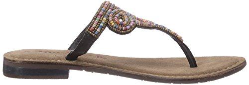 Tamaris 27116 - Sandalias de lona para mujer multicolor - Mehrfarbig (Multicolour 990)