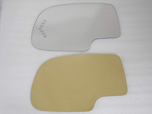 Mirror Glass Adhesive For Silverado Sierra Passenger Side Replacement Heate