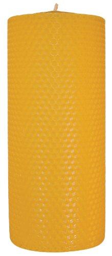 Palettas handgedrehte Abendkerze Ø 85 mm h. 200 mm 1 Stück 100% Bienenwachs