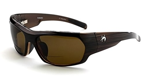 c0fac1ab3ef Ono s Torero (Amber Lens) Hemingway Polarized Bi-Focal Sunglasses  Collection +3.00