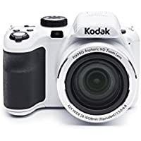 Kodak PIXPRO Astro Zoom AZ421 16 MP Digital Camera with 42X Opitcal Zoom and 3 LCD Screen (White)