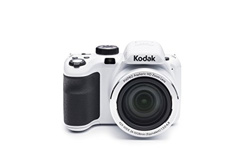 Kodak PIXPRO Astro Zoom AZ421 16 MP Digital Camera with 42X Opitcal Zoom and 3″ LCD Screen (White)