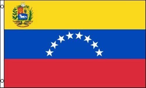 Bandera de Venezuela de poliéster de 91 x 152 cm