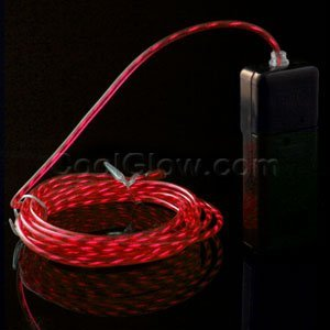 Fun Central A225 EL Motion Wire - Red 3 Yard