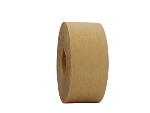 Gummed Paper Tape - T.R.U. WAT-WAE Water Activated Reinforced Kraft Paper Gummed Tape: 2.75 inches x 450 feet (Pack of 1)