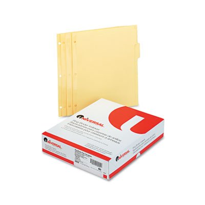 Economy Tab Dividers, 5-Tab, Letter, Buff, 36 Sets/Box, Total 288 ST, Sold as 1 Carton