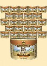 Wolf sangre Wide Plain quinoa húmedo Forro para perros con carne de caballo y quinoa 6x 200g