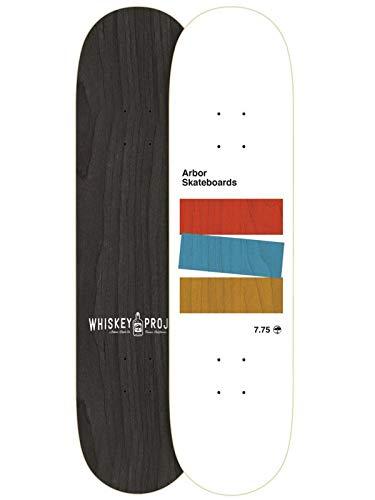 Arbor White Whiskey Team - 7.75 Inch Skateboard Deck (Default, ()