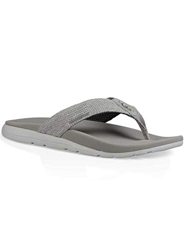 UGG Men's Tenoch Hyperweave Flip-Flop, Seal, 8 M US for sale  Delivered anywhere in USA