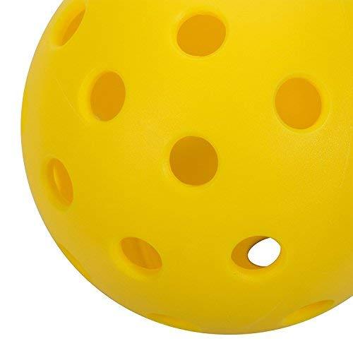 Onix Pure 2 Outdoor Pickleball Balls (4-Pack), Yellow