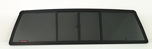 CRL Fits 1995-2004 Toyota Tacoma Pickup All Model Rear Sliding Window Glass Back Slider