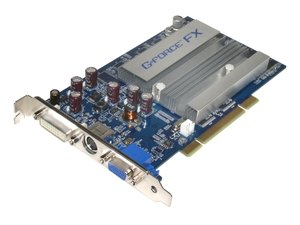 5200 Video Geforce Card - APOLLO FX5200 128MB Apollo 5200 128MB PCI GeForce FX 5200 128MB 128-bit DDR PCI Video Card