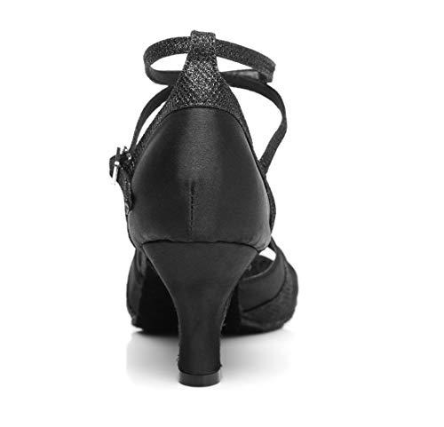 L296 Noir Salon Danse de MinitooUK Minitoo Femme Ag5qxU