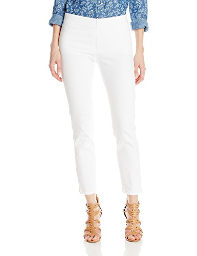 NYDJ Women's Alina Pull On Ankle Pants, Endless White, 14