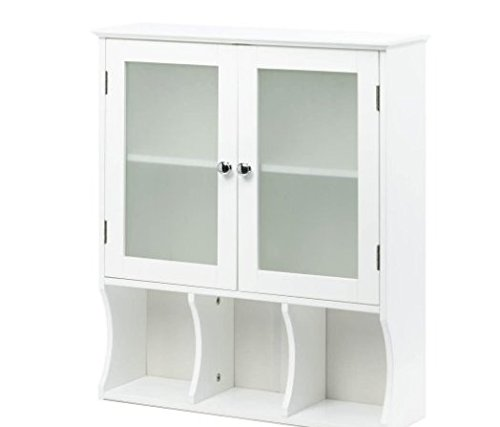 SKB Family Aspen Wall Cabinet Storage Bathroom Kitchen Slim Space Home Furniture by SKB family