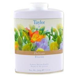 (Taylor of London Delicate Freesia Luxury Talcum Powder, 7.0 Oz )