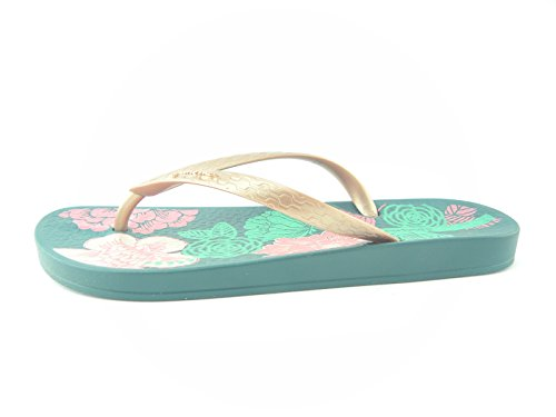 Ipanema , Tongs pour femme gris Green/Rose