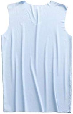 Beeatree メンズ ソリッド カラー Vee 通気性薄シームレストリムフィット タンクトップアンダーシャツ
