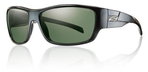 Smith Optics Frontman Sunglasses, Black Frame, Polar Gray Green Carbonic TLT - Frontman Smith Sunglasses