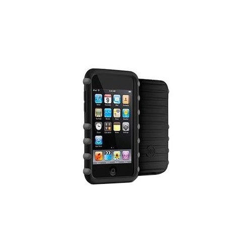 DLO Jam Jacket Trek Case for iPod touch 2G, 3G (Black/Gray) - Dlo Surface Shields