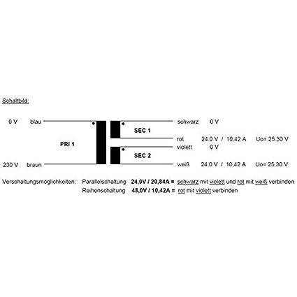 Transformateur torique 200VA 230V RSO-826037 2x9V 1x18V Sedlbauer