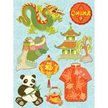 K & Company Happy Trails Grand Adhesions - China ()