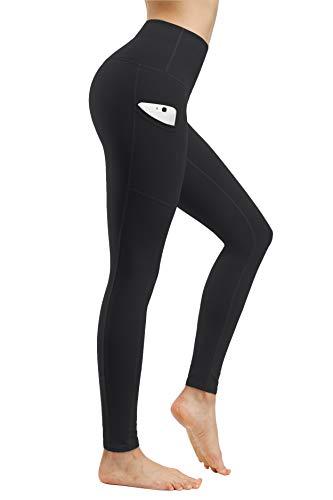 Fengbay High Waist Yoga Pants, Pocket Yoga Pants Tummy Control Workout Running 4 Way Stretch Yoga Leggings 3