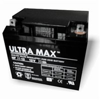 Ultramax NP33-12, 12v 33Ah 20HR (as 30Ah, 32Ah, 35Ah & 36Ah) Wheelchair, Lawn Mower, Jump Starter Battery