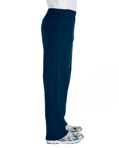Gildan Mens Heavy Blend Open Bottom Sweatpant/Jogging Pants