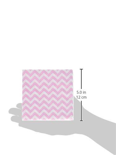 Pink CV-220 Ginger Ray Chevron Divine Small Paper Napkins