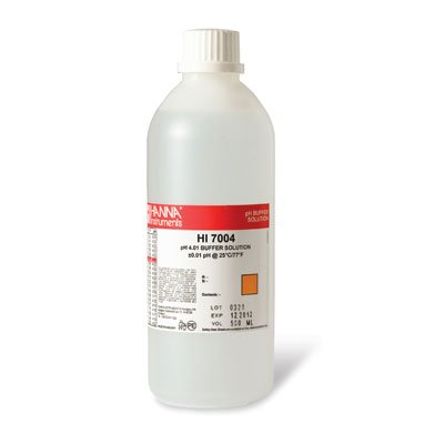 Ph4 Buffer - PH4 Calibration Solution, 16 oz by Hanna Instruments