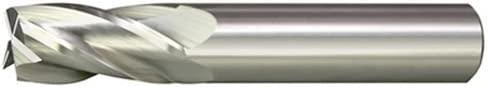 Alfa Tools SC60604 7//64 x 1//8 4 Flute Single End Carbide End Mill