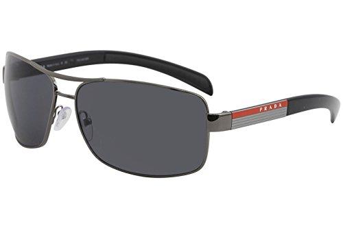 Sports Prada Shoes - Prada Sport PS54IS Sunglass-5AV/5Z1 Gunmetal (Polar Gray Lens)-65mm