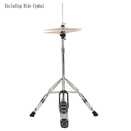 reakfaston Professional Pedal Control Style Drum High Hat Cymbal Stand with - High Cymbal