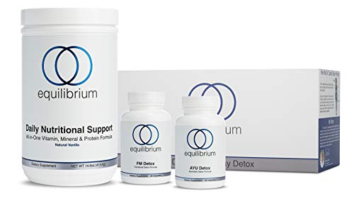 Equilibrium Nutrition 7 Day Revolutionary Full-Body Vanilla Detox. All Natural Cleanse, Organic Superfood Nutrients for Fat Burning, More Energy, Removal of Toxins, Decreased Bloating
