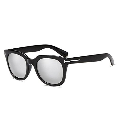 Femme de polarisées Fashion Lunettes 56mm Couleur Silver Mans Vintage LJJ Soleil Vintage Silver Eyewear H58t6wqwx