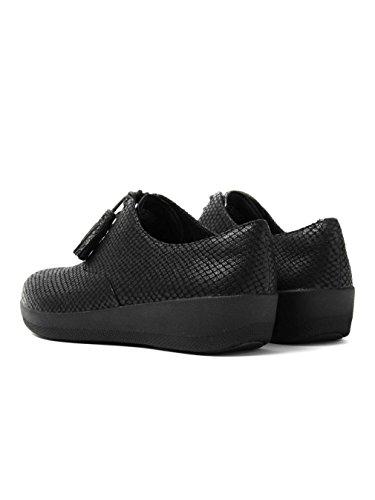 Classique Tassel SuperOxford Chaussures Fitflop Femmes - Black Snake