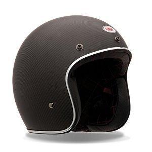 Bell Custom 500 Unisex-Adult Open face Street Helmet (Matte Black, Large) - Bells Store Florida
