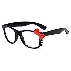 Hello Kitty Kids Baby Toddler Clear Lens Sunglasses Age up to 4 years - Black