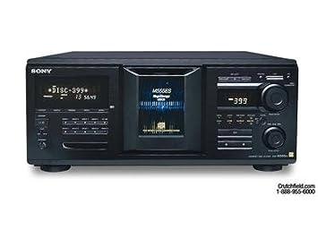 amazon com sony cdp m555es 400 disc megastorage r cd changer home rh amazon com sony megastorage 200 cd manual Mega 50GB