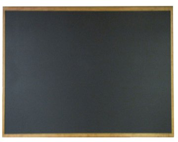 NEOPlex 48'' x 60'' Extra-Large Framed Black Chalkboard by NEOPlex