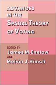 Kostenloses PDF-Ebook lädt Bücher herunter Advances in the Spatial Theory of Voting PDF 0521352843