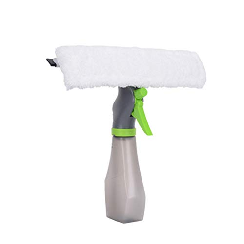 (Ansenesna Cleaning Supplies 3 in 1 Window Cleaner Spray Bottle Wiper Squeegee Microfibre Cloth Pad Kit)