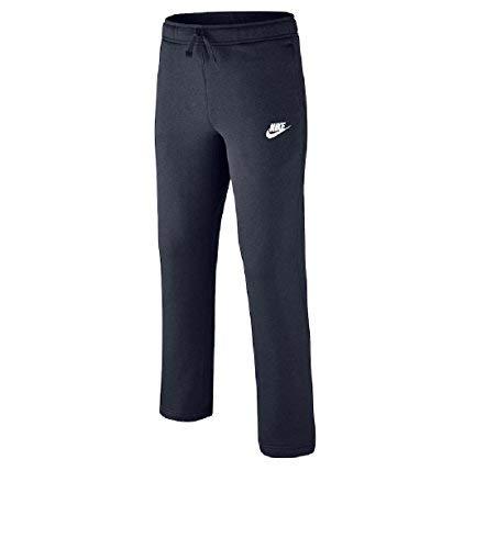 Nike Boys 8-20 Core Fleece Pant, Navy (Medium)