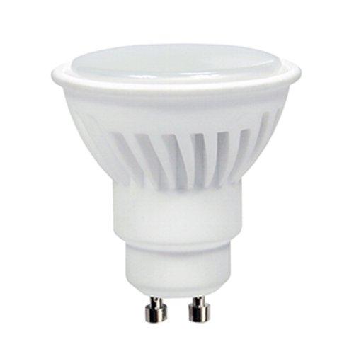 Dicroica GU10 LED 8W SMD Cerámica en Luz cálida 3000K 700Lm. Muy alta luminosidad!: Amazon.es: Iluminación