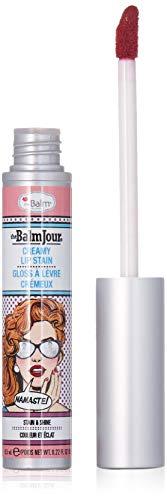 theBalm Jour Lip Stain, Namaste! Long Lasting, Soft, Creamy, Moisturizing