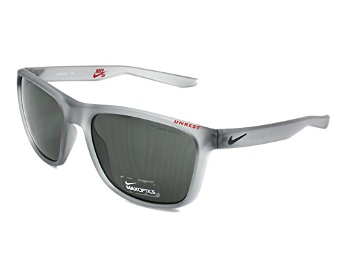 Nike Golf Unrest Sunglasses, Matte Wolf Grey/Deep Pewter Frame, Grey ()