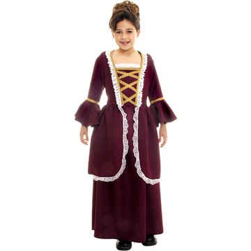 Colonial Girl Child Costume - Small