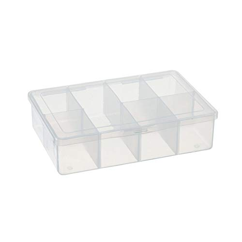 Bulk Buy: Darice DIY Crafts Empty Box 7 Compartments (3-Pack) 10689B