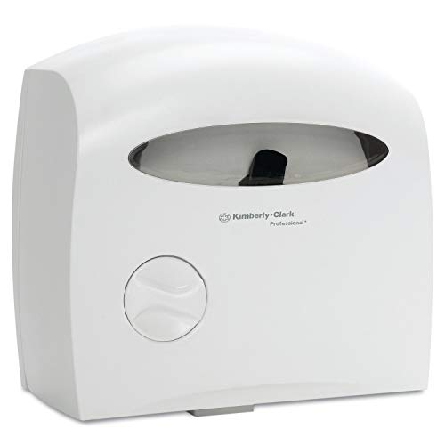 Kimberly-Clark Professional 09617 Electronic Touchless Coreless JRT Dispenser, 12 2/3w x 6 7/8d x 13h, White